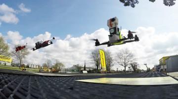 Course de drones hallucinante en FPV chez LOCARMOR